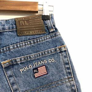 Vtg Polo Jeans Ralph Lauren High Waisted Jeans